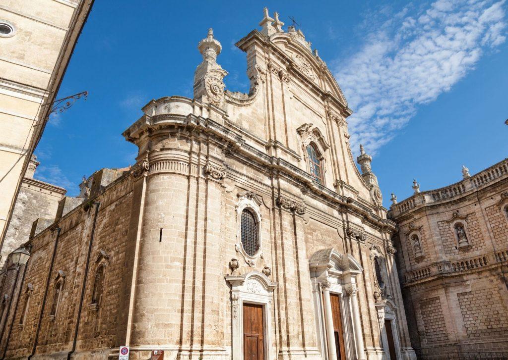Cattedrale di Monopoli: la facciata