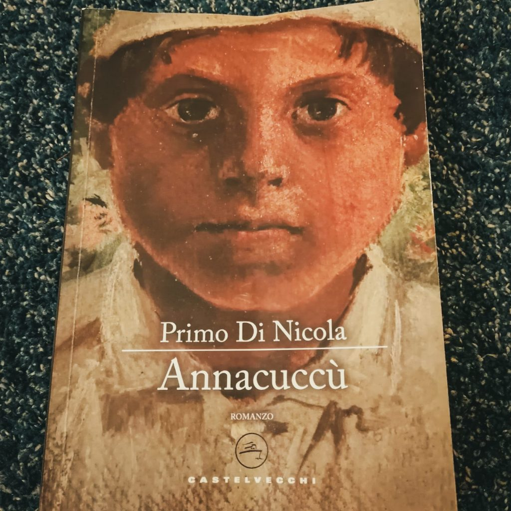 Annacuccù - Primo Di Nicola: copertina con bambino in camiciola bianca