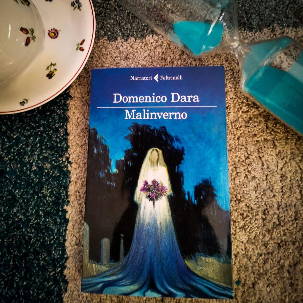 Malinverno - Domenico Dara: copertina con sposa in un cimitero