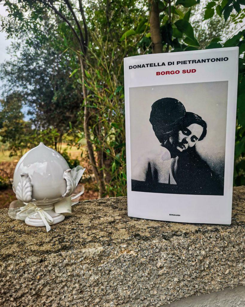 Borgo Sud - Donatella Di Pietrantonio copertina su muretto a secco